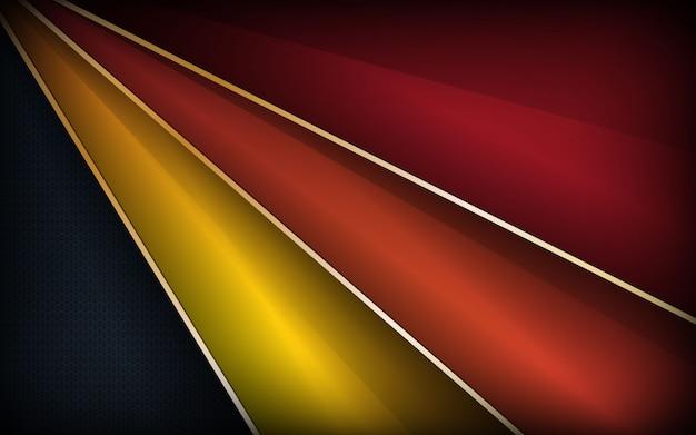 Streszczenie kolorowe tło warstwy nakładki