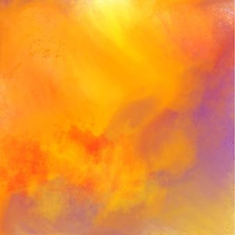 Streszczenie kolorowy akwarela tekstura tło