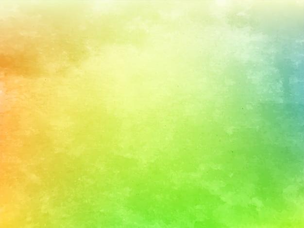 Streszczenie kolorowy projekt tekstury akwarela