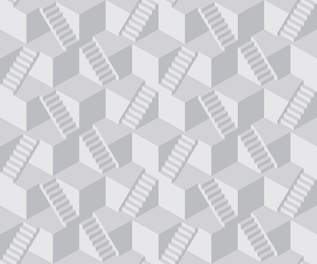 Streszczenie kostki schody wzór