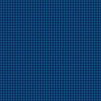 Streszczenie kraciasty wzór dziania w odcieniach niebieskich kolorów. bezszwowe tło wektor.
