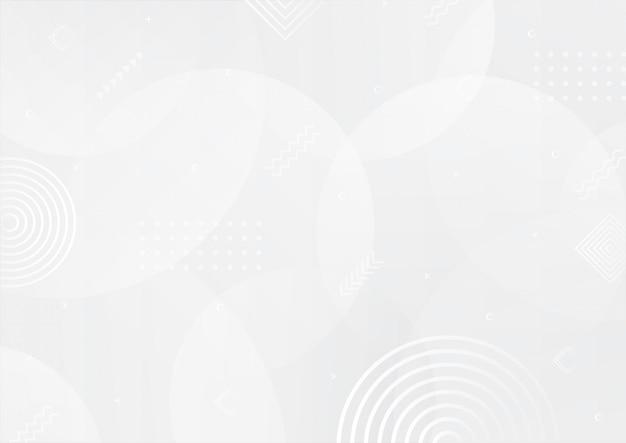Streszczenie krzywa biały i szary kolor gradientu tło z efektem półtonów.