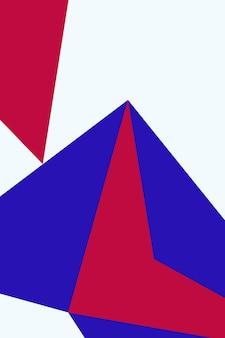 Streszczenie, kształty wzrosła czerwona, niebieska tapeta tło wektor ilustracja.