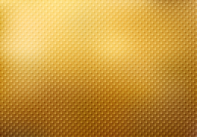 Streszczenie kwadraty wzór tekstury na złotym tle