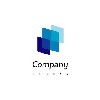 Streszczenie logo firmy biznesowej