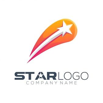 Streszczenie logo gwiazdy