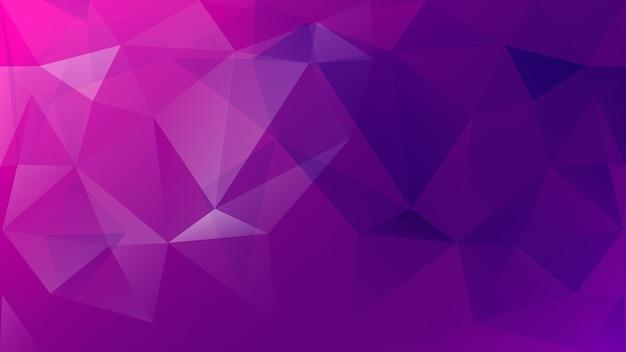 Streszczenie low poly kolorowe tło trójkątów