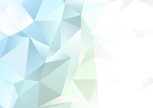 Streszczenie low poly pastelowe kolorowe tło projektu
