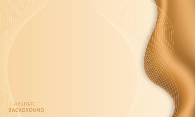 Streszczenie luksusowe złote linie tła z efektem blasku