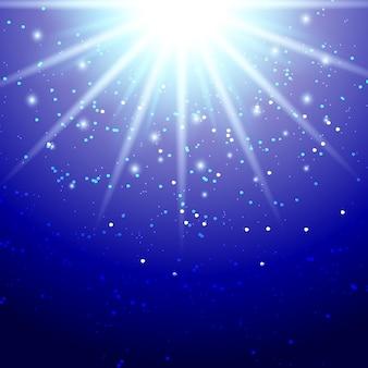Streszczenie magic light background vector illustration