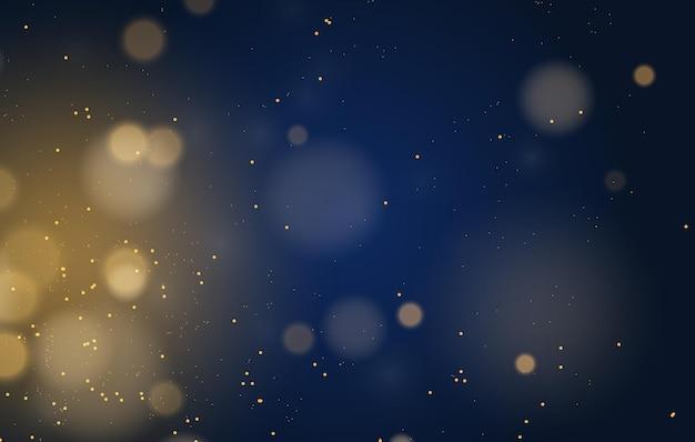 Streszczenie magiczne tło efekt światła bokeh