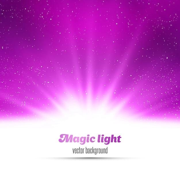 Streszczenie magiczne tło światło.