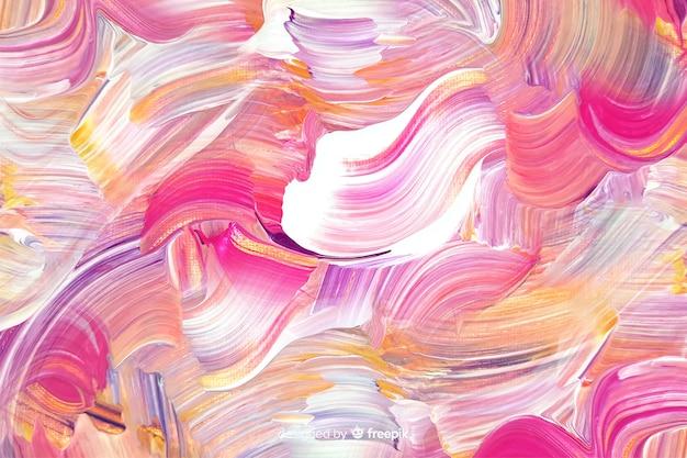 Streszczenie malowane pociągnięcia pędzlem tło