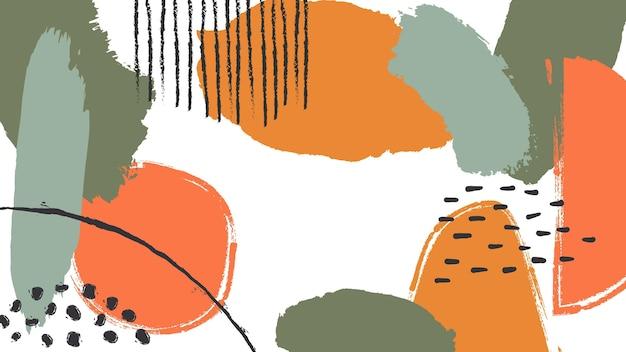 Streszczenie malowane tapety