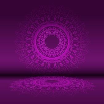 Streszczenie mandali wzór tła