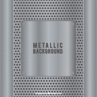Streszczenie metaliczne tło