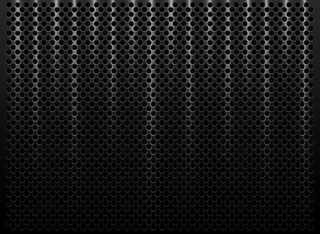 Streszczenie metalowe perforowane tekstury