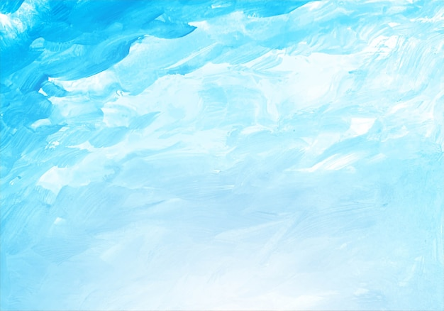 Streszczenie miękka niebieska tekstura akwarela