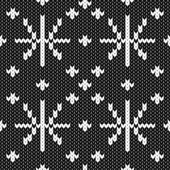 Streszczenie monochromatyczne wzór z dzianiny. próbka dzianiny z teksturą na kartkę noworoczną, zaproszenie na boże narodzenie, papier do pakowania wakacji, podróże zimowe i reklama ośrodka narciarskiego itp.