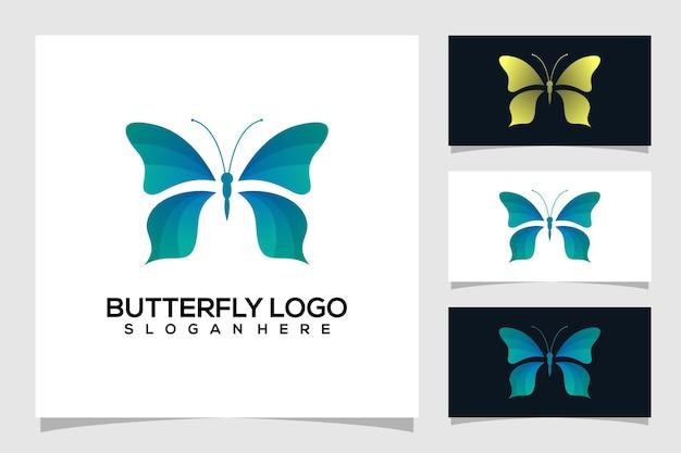 Streszczenie motyl logo ilustracja