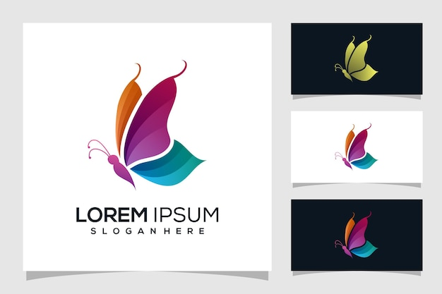 Streszczenie motyl logo