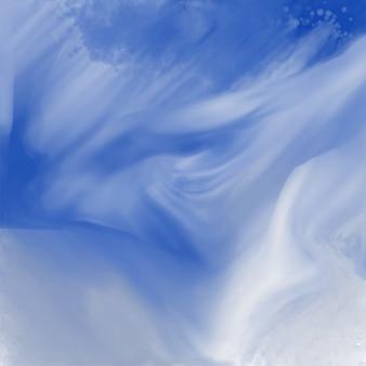 Streszczenie niebieski akwarela tekstury tła