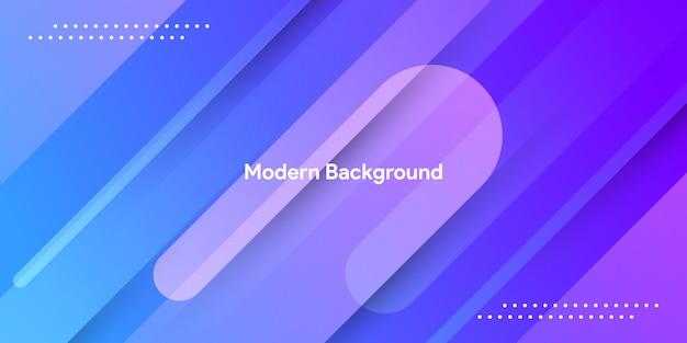 Streszczenie niebieski kolor gradientu z paskiem w tle