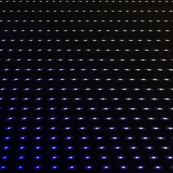 Streszczenie niebieski kolor kropki neonowe