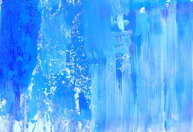 Streszczenie niebieski miękki akwarela tekstury tła