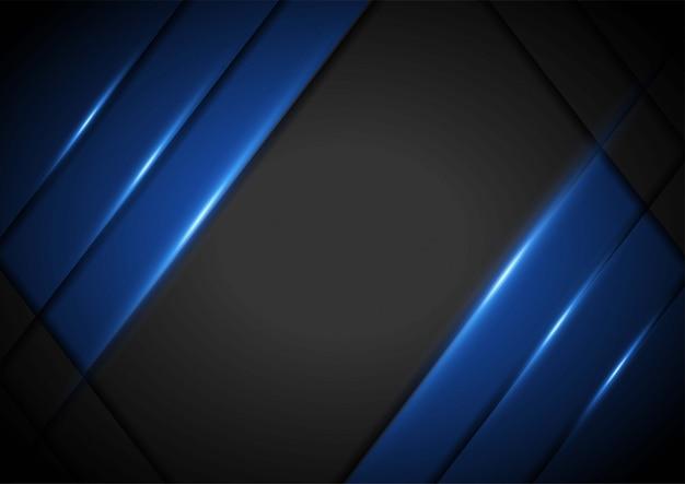 Streszczenie niebieski papier ilustracja z jasnoniebieskim