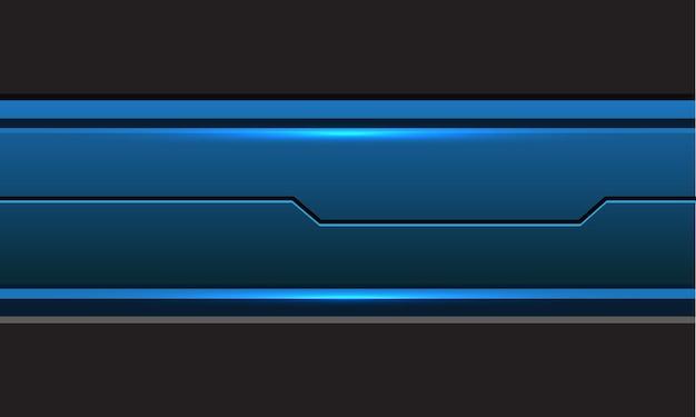 Streszczenie niebieski szary obwód metaliczny linia cyber nowoczesny futurystyczny styl technologia tło