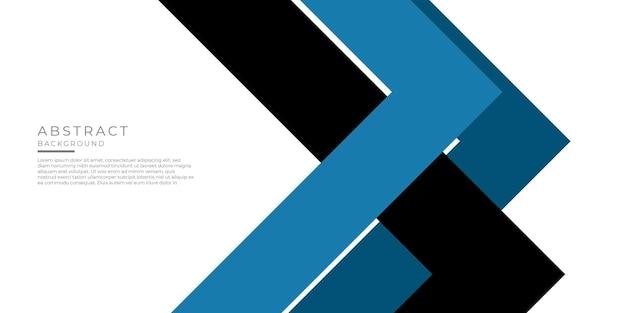 Streszczenie niebieski trójkąt kwadratowy kształt z futurystycznym tle koncepcji