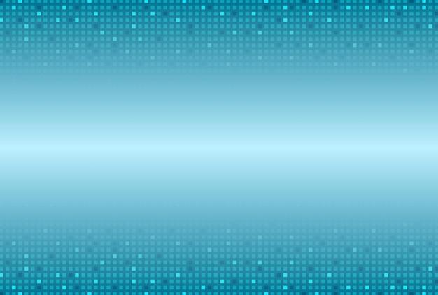 Streszczenie niebieskie kwadraty technika tło. projekt wektorowy