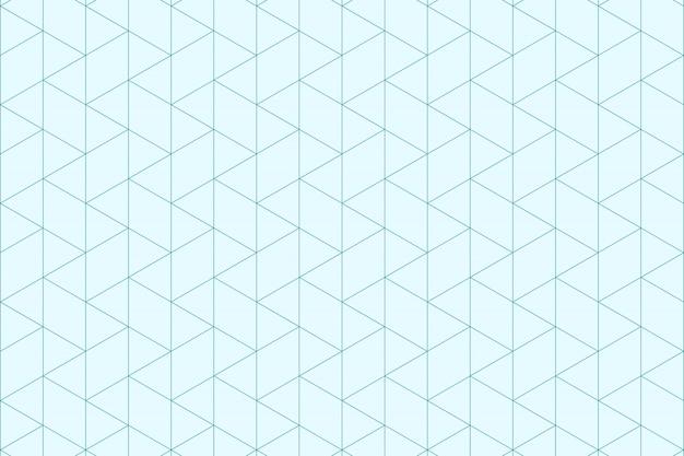 Streszczenie niebieskie trójkąty wzór minimalne proste tło.