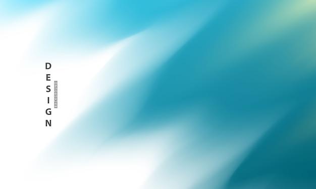 Streszczenie niebieskim tle gradientu koncepcja ekologii do projektowania graficznego,