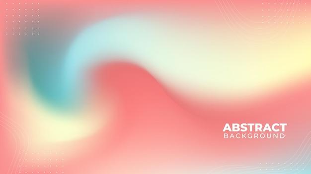 Streszczenie niewyraźne pastelowe tło gradientowe
