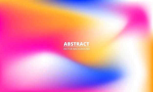 Streszczenie niewyraźne płynne kolorowe tęczowe gradientowe tło holograficzne