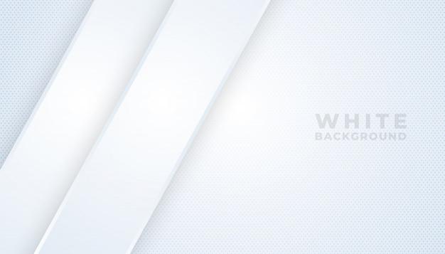 Streszczenie nowoczesną linię gradientu białe i szare tło