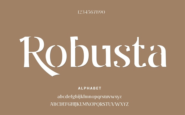 Streszczenie nowoczesne czcionki alfabetu. szablon typografii miejska moda cyfrowa przyszłość kreatywna czcionka logo.