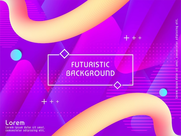 Streszczenie nowoczesne futurystyczne tło