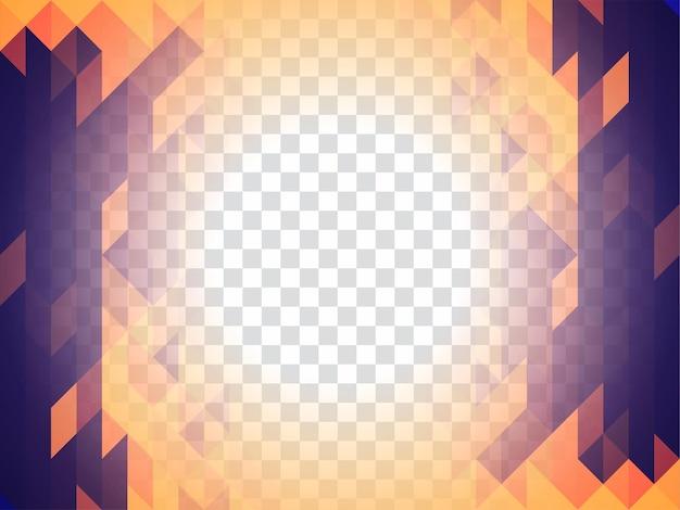 Streszczenie nowoczesne geometryczne przezroczyste