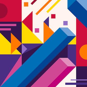 Streszczenie nowoczesne geometryczne tło.
