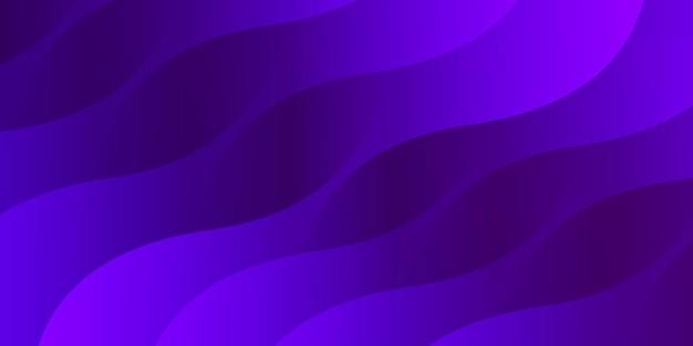 Streszczenie nowoczesne kolorowe gradientowe fioletowe tło krzywej