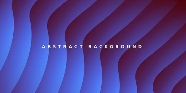 Streszczenie nowoczesne kolorowe gradientowe niebieskie tło krzywej