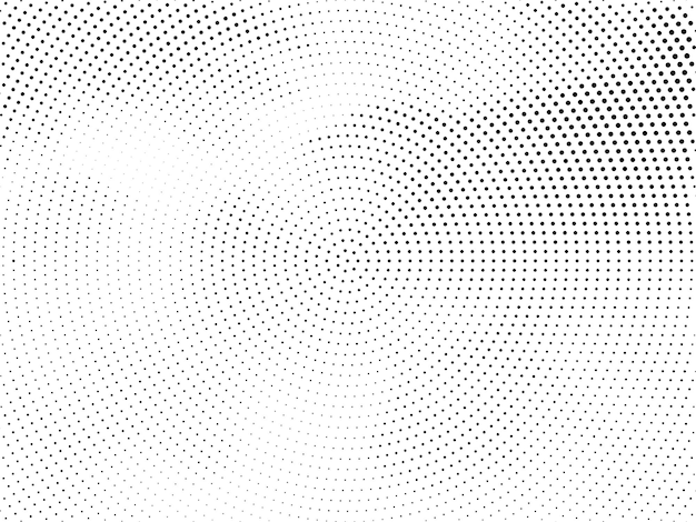 Streszczenie nowoczesne okrągłe tło półtonów