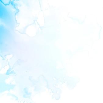 Streszczenie nowoczesnych niebieskim tle akwarela
