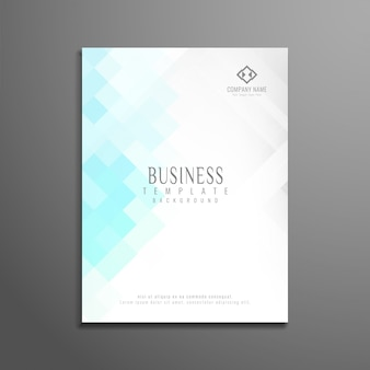 Streszczenie nowoczesnych szablon broszur biznesowych