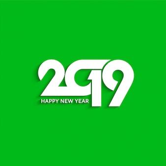Streszczenie nowy rok 2019 ozdobny tekst wzór tła