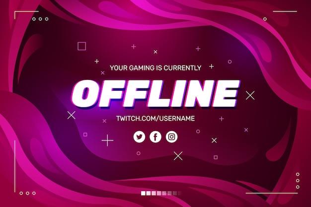 Streszczenie offline banner skurczowy motyw