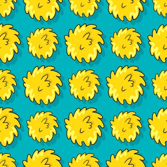 Streszczenie okrzyki bezszwowe powtórzyć wzór. tło wektor ilustracja.